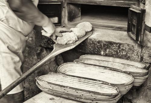 Vieille façon de faire du pain