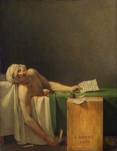 Marat Assassiné - Jean Louis David- 1793